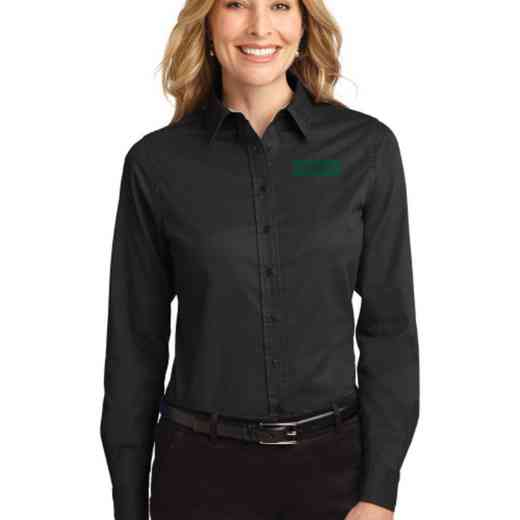 Cheerleading Easy Care Embroidered Long Sleeve Oxford