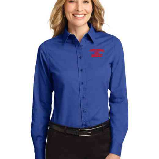 Cross Country Easy Care Embroidered Long Sleeve Oxford