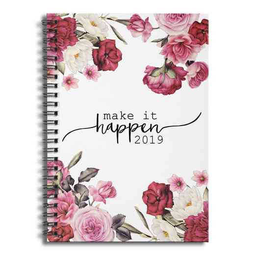 46285-AY: Make it Happen 2019 Prsnlzd Notebook