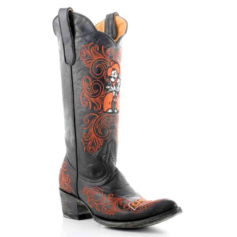Womens 13 Oklahoma State Cowboys Tailgate Cowboy Boots By Gameday Boots Shoes Shoes Accessories