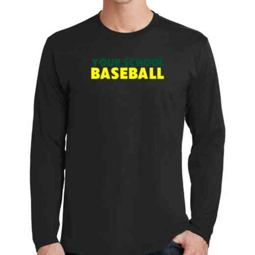 Baseball Fan Favorite Cotton Long Sleeve T-Shirt