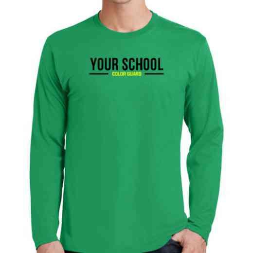 Color Guard Fan Favorite Cotton Long Sleeve T-Shirt