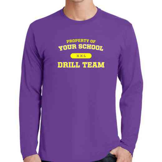 Drill Team Fan Favorite Cotton Long Sleeve T-Shirt