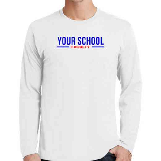 Faculty Fan Favorite Cotton Long Sleeve T-Shirt