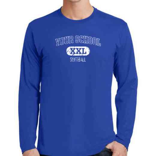 Softball Fan Favorite Cotton Long Sleeve T-Shirt