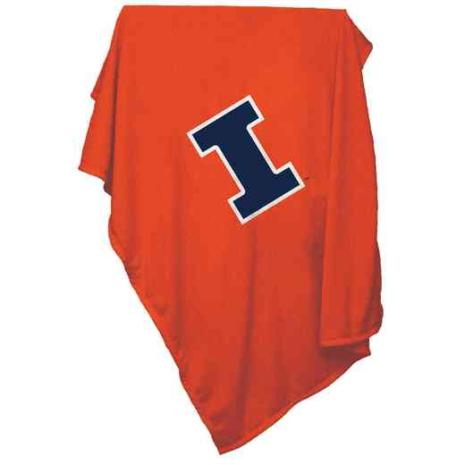 151-74: Illinois Sweatshirt Blanket