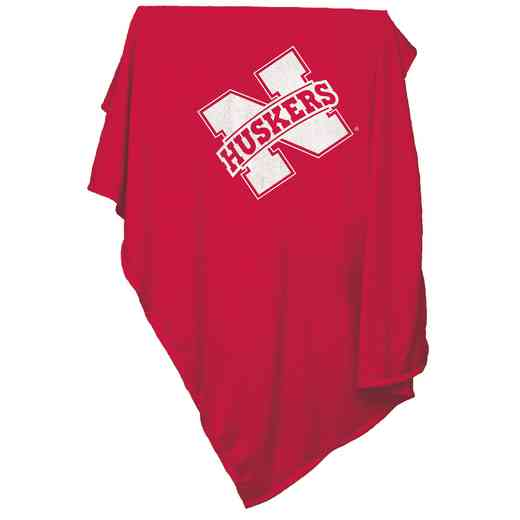 182-74: Nebraska Sweatshirt Blanket