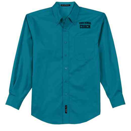 Coach Easy Care Embroidered Long Sleeve Oxford