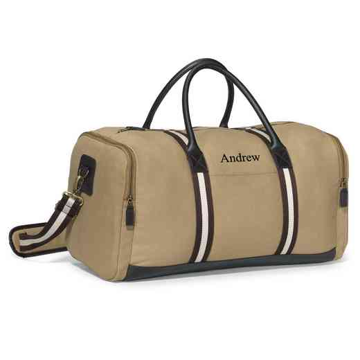 GC1528 Khaki: Heritage Supply Duffel Bag