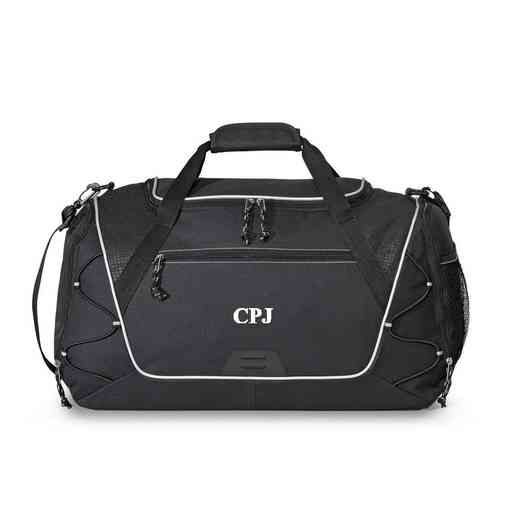 GC1527 Black: Sports Duffel Bag
