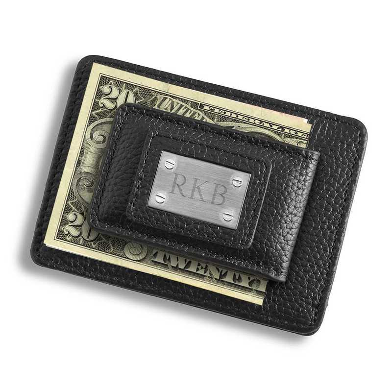 studded leather money clip and card holder - Money Clip Card Holder