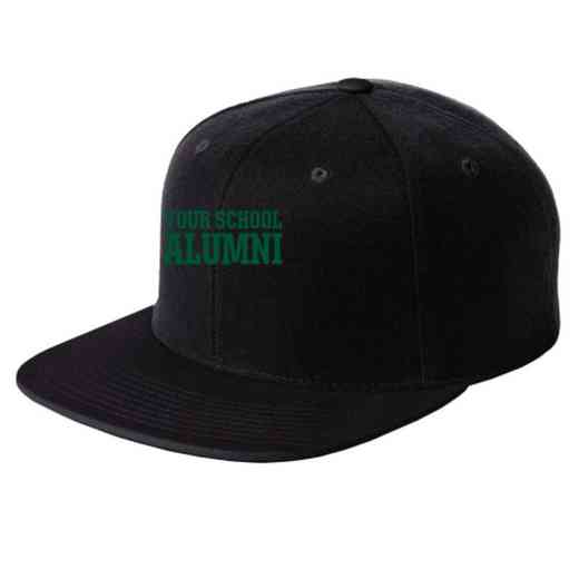 Alumni Embroidered Sport-Tek Flat Bill Snapback Cap