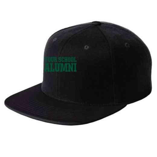 Alumni Embroidered Sport-Tek Flat Bill Snapback Cap