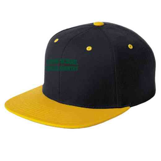 Cross Country Embroidered Sport-Tek Flat Bill Snapback Cap