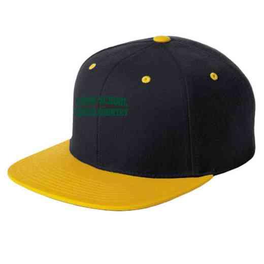 Cross Country Embroidered Sport-Tek Flat Bill Snapback Cap