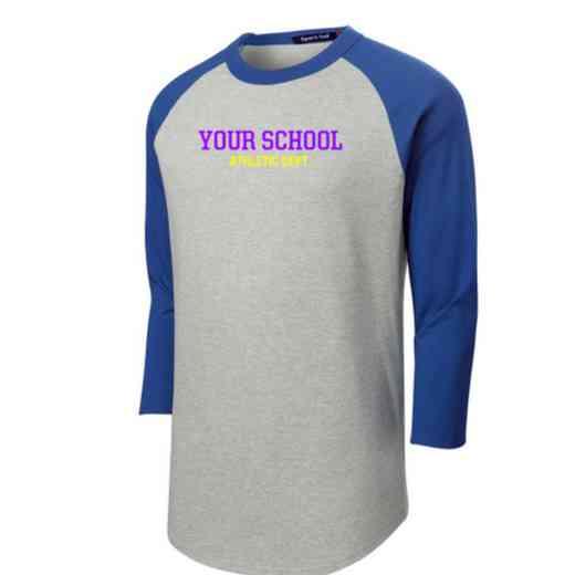 Athletic Department Adult Sport-Tek Baseball T-Shirt