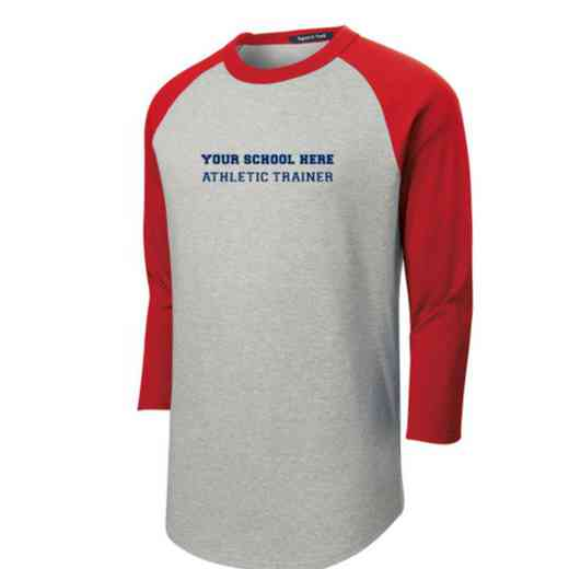 Athletic Trainer Adult Sport-Tek Baseball T-Shirt