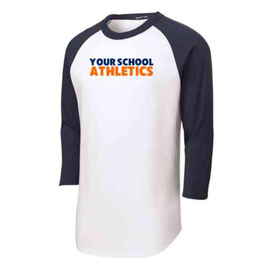 Athletics Adult Sport-Tek Baseball T-Shirt