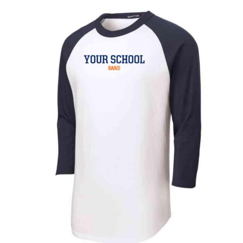 Band Adult Sport-Tek Baseball T-Shirt
