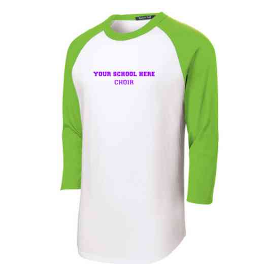 Choir Adult Sport-Tek Baseball T-Shirt