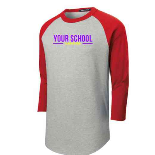Class of  Adult Sport-Tek Baseball T-Shirt