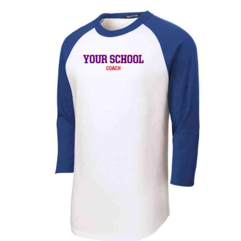 Coach Adult Sport-Tek Baseball T-Shirt