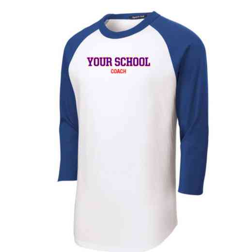 Coach Adult Sport-Tek Baseball T-Shirt