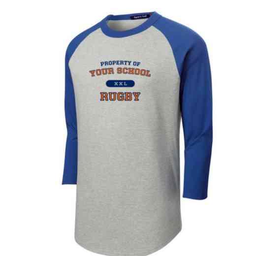 Rugby Adult Sport-Tek Baseball T-Shirt