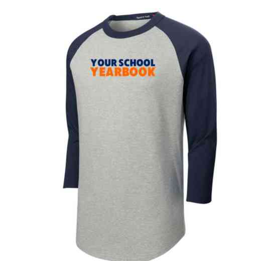 Yearbook Adult Sport-Tek Baseball T-Shirt