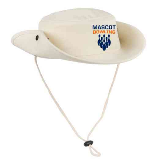 Bowling Embroidered Canvas Outback Hat
