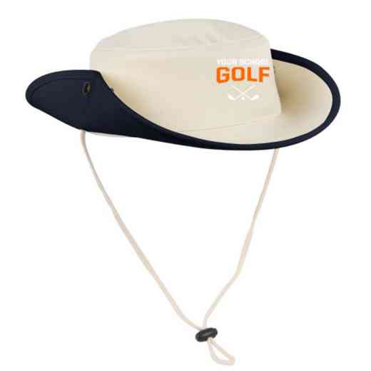 Golf Embroidered Canvas Outback Hat