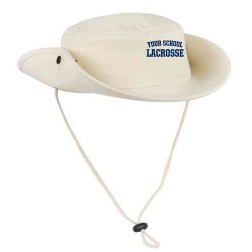 Lacrosse Embroidered Canvas Outback Hat