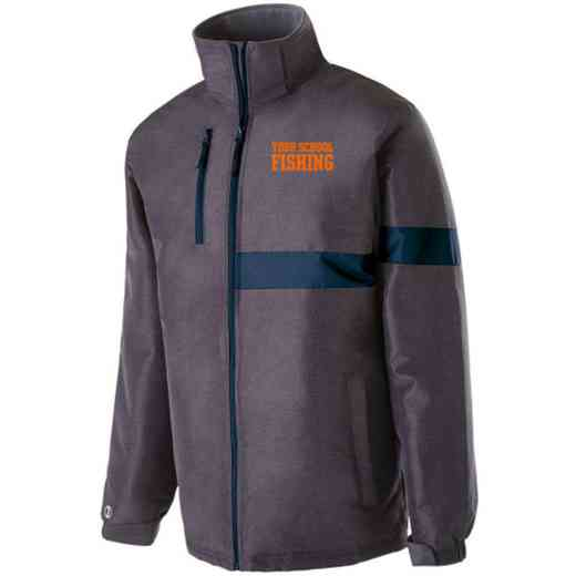 Fishing Embroidered Holloway Raider Heavy Weight Jacket
