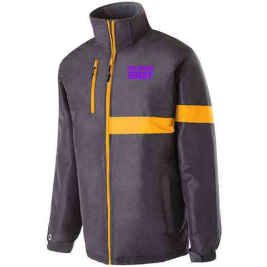 Rugby Embroidered Holloway Raider Heavy Weight Jacket