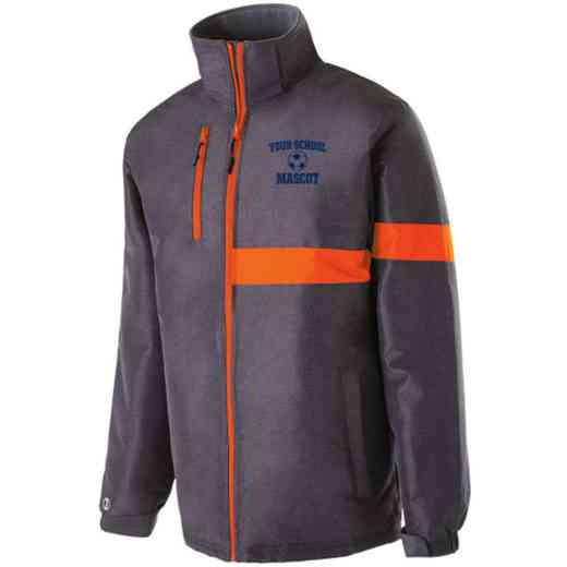 Soccer Embroidered Holloway Raider Heavy Weight Jacket