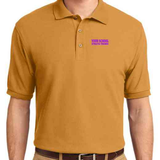 Athletic Trainer Embroidered Youth Silk Touch Polo