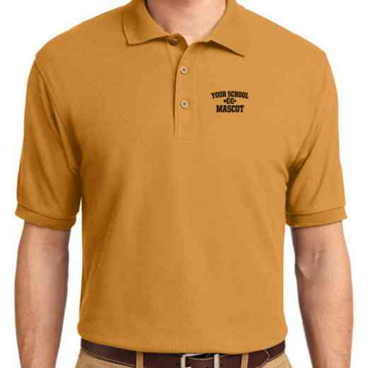 Cross Country Embroidered Youth Silk Touch Polo