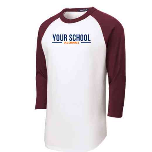 Alumni Youth Sport-Tek Baseball T-Shirt
