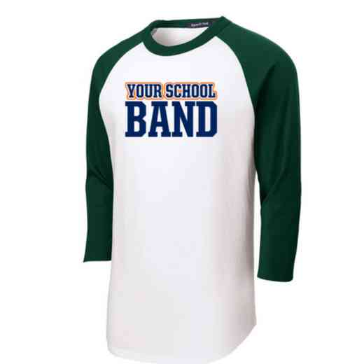 Band Youth Sport-Tek Baseball T-Shirt