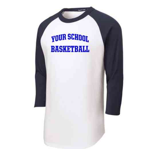 Basketball Youth Sport-Tek Baseball T-Shirt