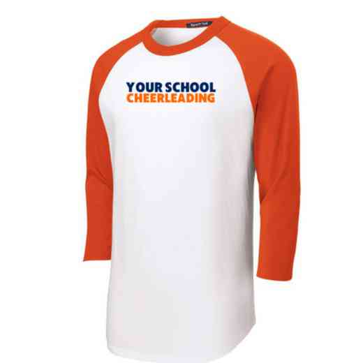 Cheerleading Youth Sport-Tek Baseball T-Shirt