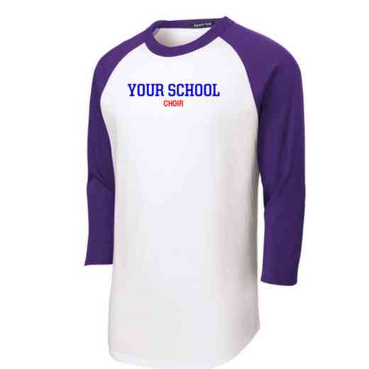 Choir Youth Sport-Tek Baseball T-Shirt