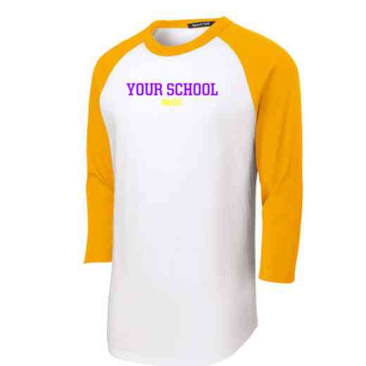 Music Youth Sport-Tek Baseball T-Shirt
