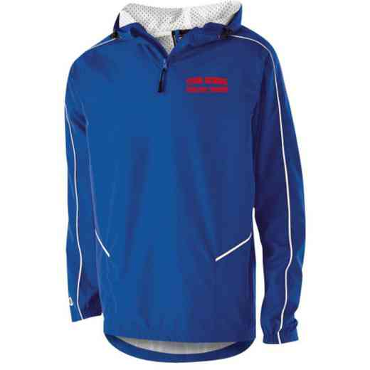 Athletic Trainer Holloway Youth Embroidered Wizard Pullover Jacket