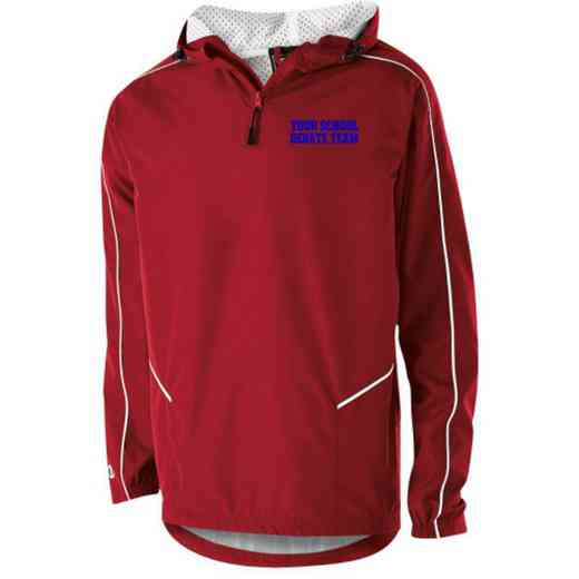 Debate Team Holloway Youth Embroidered Wizard Pullover Jacket