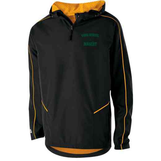 Hockey Holloway Youth Embroidered Wizard Pullover Jacket