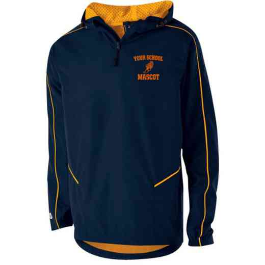 Track and Field Holloway Youth Embroidered Wizard Pullover Jacket