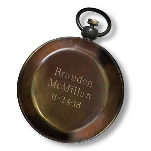 GC1683 3Lines: Personalized Antique Compass