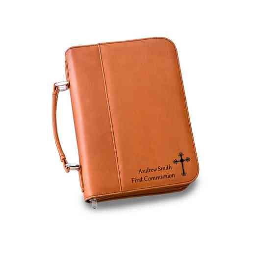GC1442 Rawhide: Personalized Small Bible Case RAWHIDE