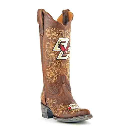 "Women's 13"" Boston College Eagles Tailgate Cowgirl Boots by Gameday Boots"